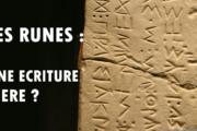 Des runes en méditerranée ! Un point sur les écritures anciennes
